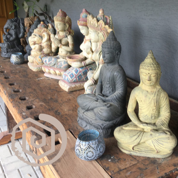 sochy - odlitky z lavoveho kamene - eenrgie rostlin