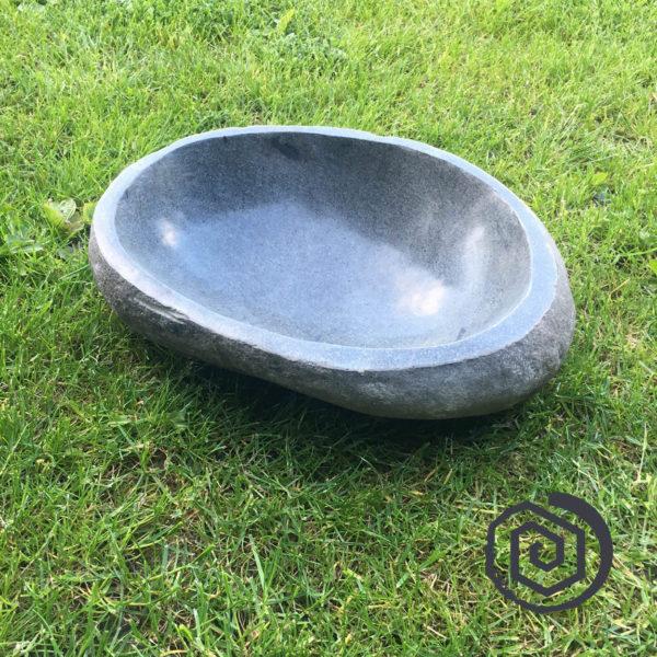 oválná nádoba - kamenná mísa