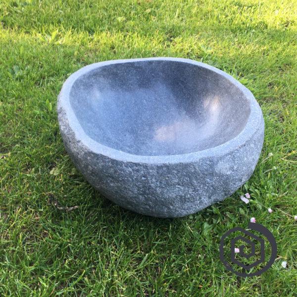 kamenná mísa - kulatá - pítko pro ptáky